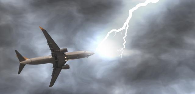 Sét đánh ảnh hưởng như thế nào tới máy bay trên không trung? - 2