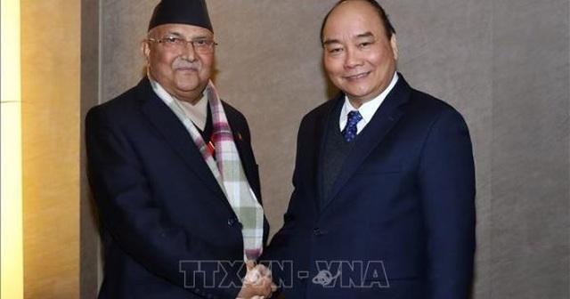 Thủ tướng Nguyễn Xuân Phúc mời Thủ tướng Nepal thăm chính thức Việt Nam - 1