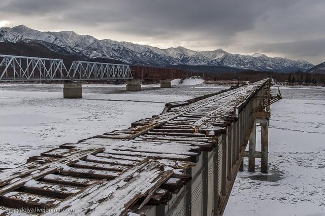 """""""Tim đập chân run"""" khi đi qua cầu lát bằng những thanh gỗ mục nát - 3"""