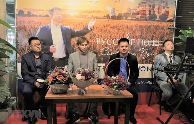 Cánh đồng Nga - Album đầu tay của ca sỹ Việt say đắm vẻ đẹp nước Nga - 1