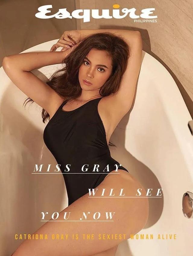 Vẻ đẹp rực rỡ và gợi cảm của Hoa hậu Hoàn vũ Catriona Gray - 7
