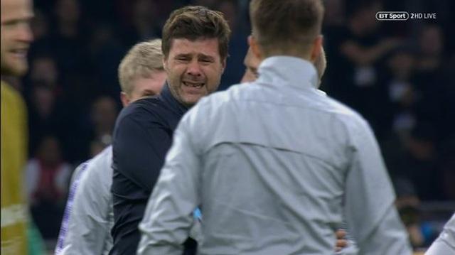 HLV Pochettino bật khóc sau màn ngược dòng khó tin của Tottenham - 5