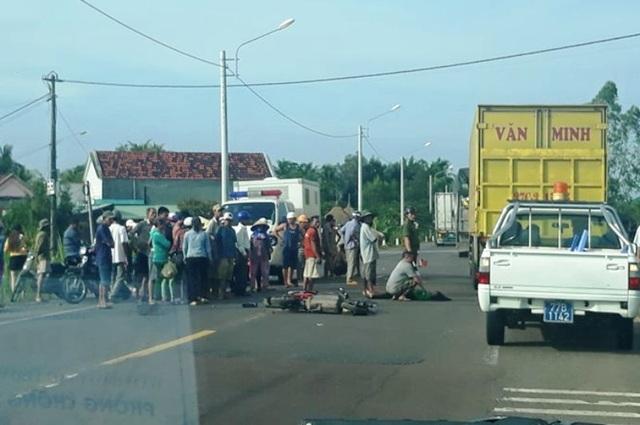 Giám đốc Công an Bình Định: Xử nghiêm vụ xe công an đâm 2 mẹ con tử vong - 1