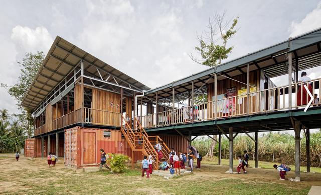 Những ngôi trường thân thiện với môi trường hàng đầu thế giới - 3