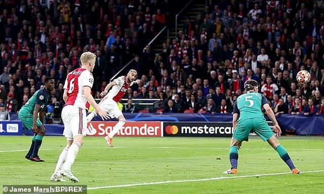 Ajax 2-3 Tottenham: Màn lội ngược dòng khó tin - 14