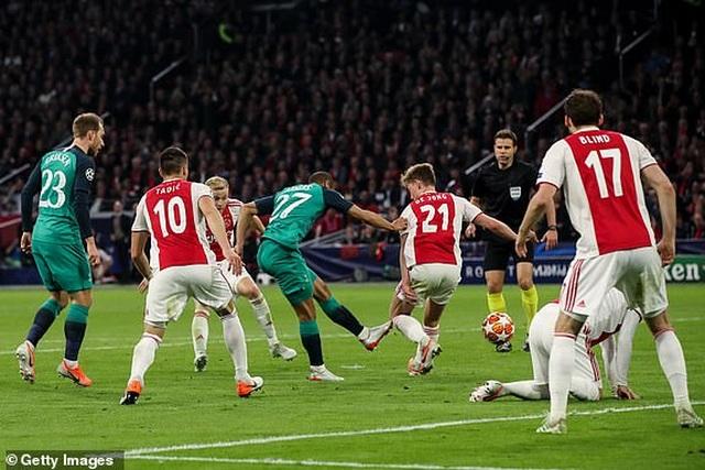 Ajax 2-3 Tottenham: Màn lội ngược dòng khó tin - 10