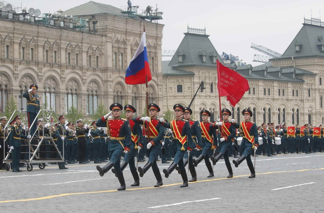 13.000 binh sĩ Nga duyệt binh trên Quảng trường Đỏ kỷ niệm chiến thắng phát xít - 44