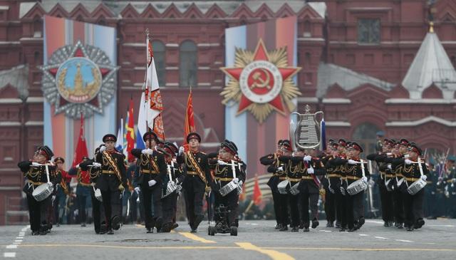 13.000 binh sĩ Nga duyệt binh trên Quảng trường Đỏ kỷ niệm chiến thắng phát xít - 35