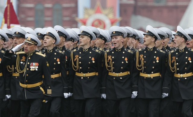 13.000 binh sĩ Nga duyệt binh trên Quảng trường Đỏ kỷ niệm chiến thắng phát xít - 34