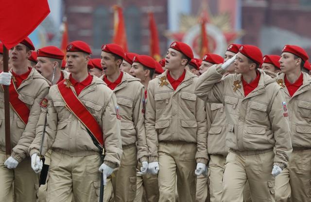 13.000 binh sĩ Nga duyệt binh trên Quảng trường Đỏ kỷ niệm chiến thắng phát xít - 33