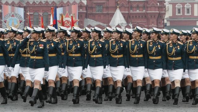 13.000 binh sĩ Nga duyệt binh trên Quảng trường Đỏ kỷ niệm chiến thắng phát xít - 26