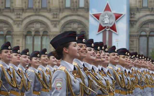 13.000 binh sĩ Nga duyệt binh trên Quảng trường Đỏ kỷ niệm chiến thắng phát xít - 25