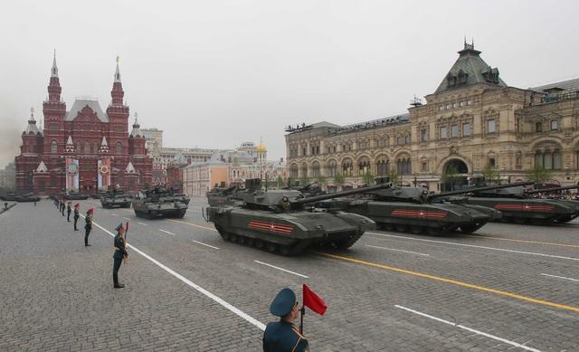 13.000 binh sĩ Nga duyệt binh trên Quảng trường Đỏ kỷ niệm chiến thắng phát xít - 9