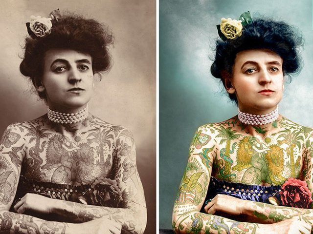 """Vẻ đẹp của những bức ảnh cổ được """"tô màu"""" - 6"""
