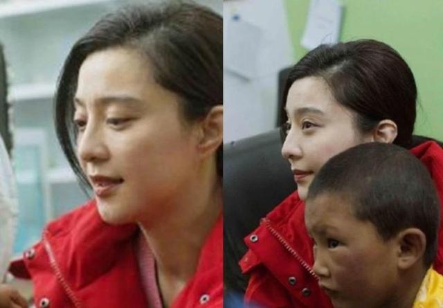 Phạm Băng Băng bị chảy máu mũi, thở oxy trong chuyến từ thiện - 6