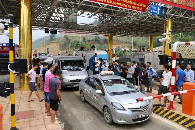 Bộ Giao thông lên tiếng về hỗn loạn tại trạm BOT Hòa Lạc - Hòa Bình - 1