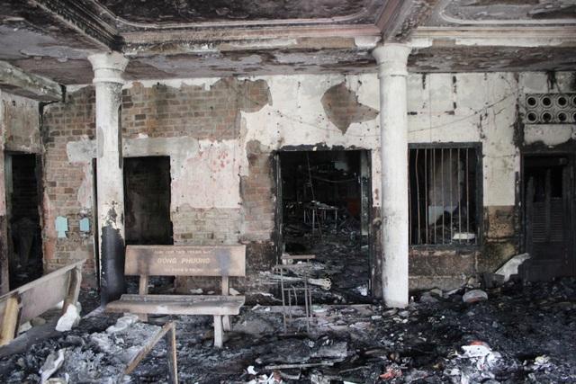 Hỏa hoạn thiêu rụi ngôi chùa 56 tuổi ở Phú Yên - 3