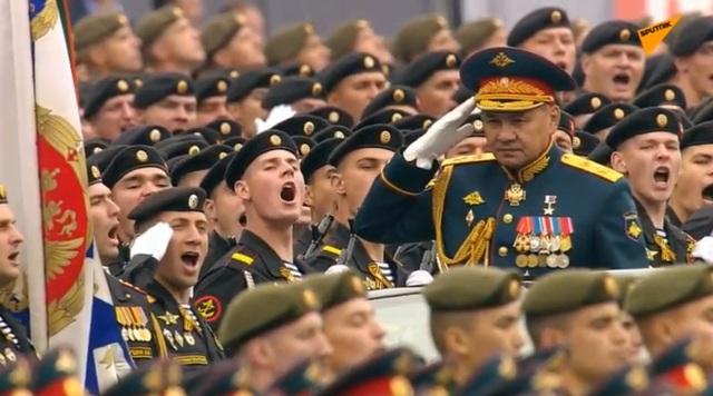13.000 binh sĩ Nga duyệt binh trên Quảng trường Đỏ kỷ niệm chiến thắng phát xít - 42