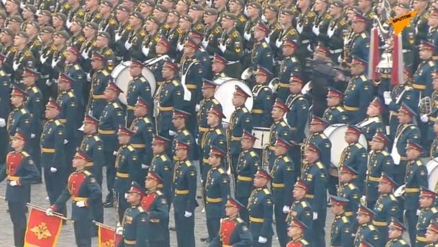 13.000 binh sĩ Nga duyệt binh trên Quảng trường Đỏ kỷ niệm chiến thắng phát xít - 36
