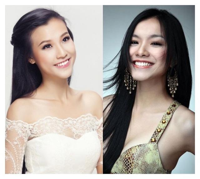 """Hoa hậu Thuỳ Lâm, Á hậu Hoàng Oanh khiến nhiều người nhầm tưởng """"chị em song sinh"""" - 5"""