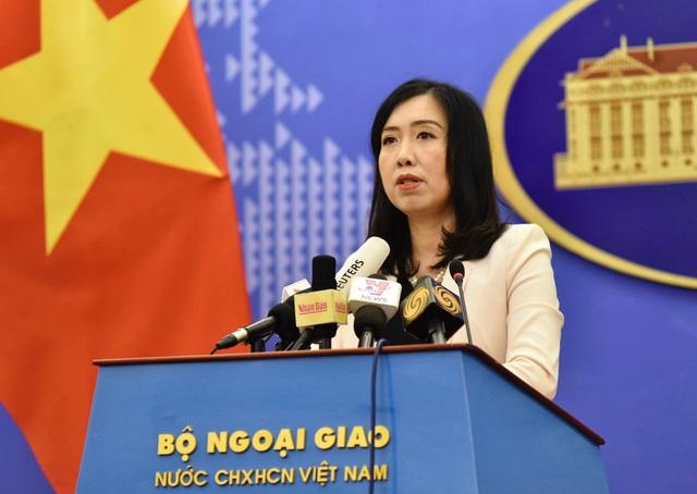 Việt Nam phản ứng việc Mỹ điều 2 tàu khu trục đến khu vực Trường Sa - 1