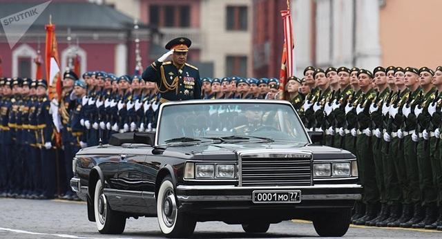 13.000 binh sĩ Nga duyệt binh trên Quảng trường Đỏ kỷ niệm chiến thắng phát xít - 46