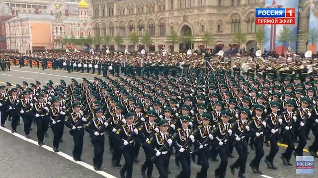 13.000 binh sĩ Nga duyệt binh trên Quảng trường Đỏ kỷ niệm chiến thắng phát xít - 28