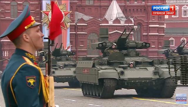 13.000 binh sĩ Nga duyệt binh trên Quảng trường Đỏ kỷ niệm chiến thắng phát xít - 13