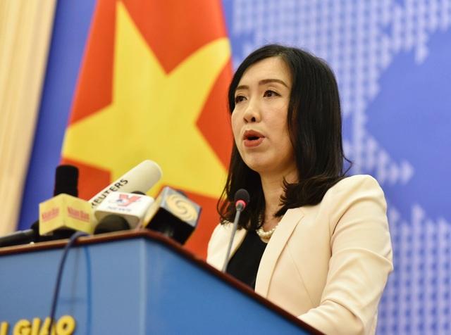 """Bộ Ngoại giao lên tiếng về việc Indonesia định """"đánh chìm"""" tàu Việt Nam - 1"""