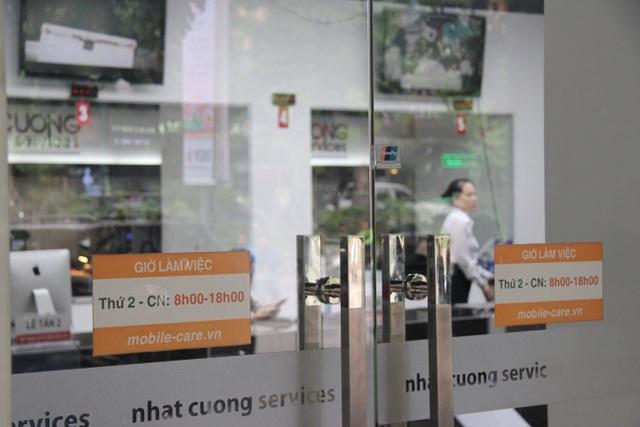 Công an khám xét các cửa hàng của Nhật Cường mobile - 10