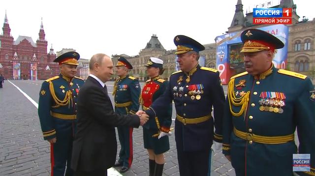 13.000 binh sĩ Nga duyệt binh trên Quảng trường Đỏ kỷ niệm chiến thắng phát xít - 2