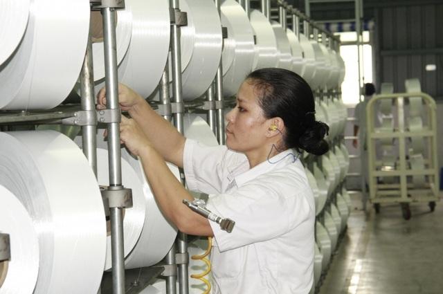 Nhà máy xơ sợi Đình Vũ tăng công suất sản xuất sợi DTY lên 900 tấn/tháng - 2