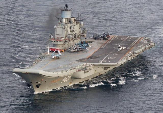Nga tính chế tạo tàu sân bay năng lượng hạt nhân đầu tiên - 1