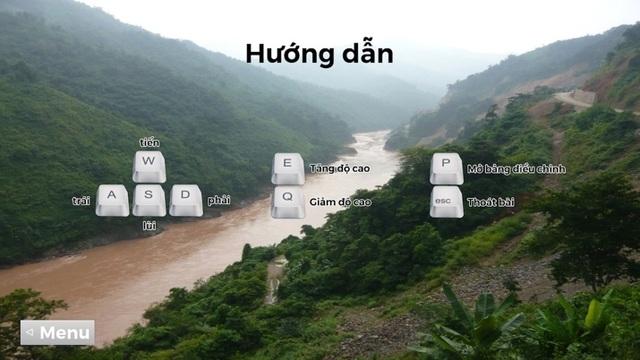 Học sinh lớp 11 chuyển thể Người lái đò sông Đà thành game 3D sống động - 4