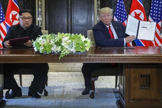 Mỹ, Triều Tiên tạm ngừng một phần thỏa thuận đạt được tại thượng đỉnh đầu tiên - 1