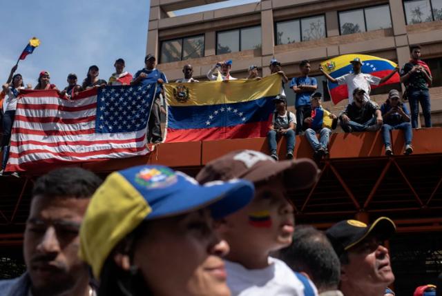 Người Venezuela lo ngại kịch bản Mỹ can thiệp quân sự - 2