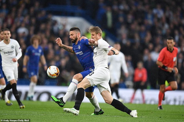 Xem lại Chelsea vs Frankfurt
