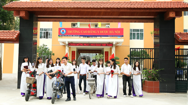 Trường Cao đẳng Y Dược Hà Nội đào tạo 3 mã ngành Cao đẳng là nghề trọng điểm quốc gia - 4