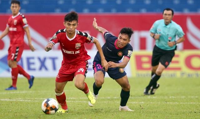 B.Bình Dương nhọc nhằn vượt qua Sài Gòn FC trên sân nhà - 1
