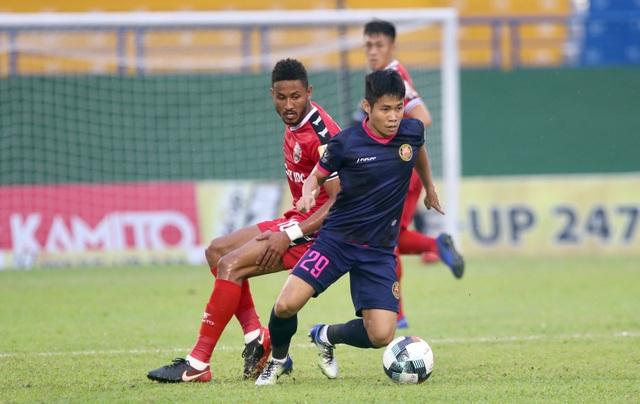 B.Bình Dương nhọc nhằn vượt qua Sài Gòn FC trên sân nhà - 6