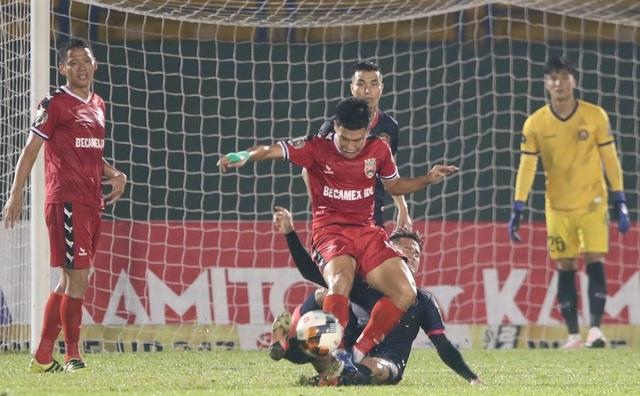 B.Bình Dương nhọc nhằn vượt qua Sài Gòn FC trên sân nhà - 3