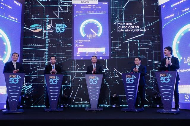 Viettel thực hiện cuộc gọi 5G đầu tiên tại Việt Nam, thương mại hoá từ năm 2020 - 1