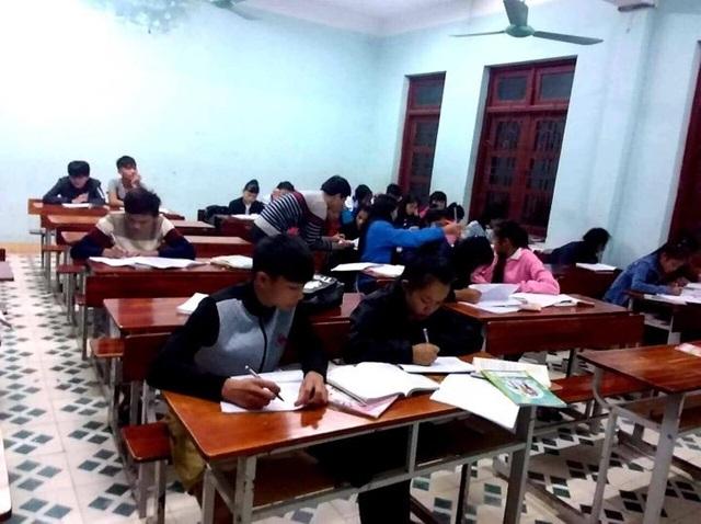 """Quảng Bình:Đỗ tốt nghiệp 100% nhờ mô hình """"Phòng học sáng đèn"""" - 2"""