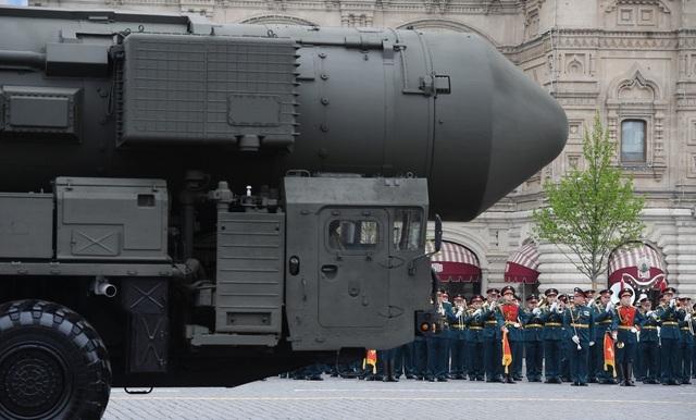 Cận cảnh dàn khí tài Nga phô diễn sức mạnh trong lễ duyệt binh - 6