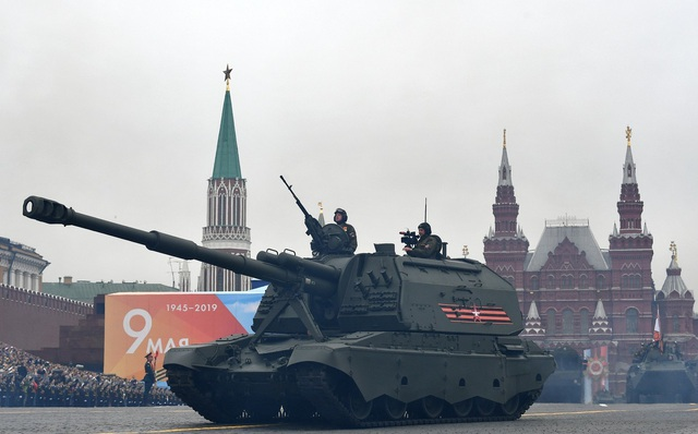 Cận cảnh dàn khí tài Nga phô diễn sức mạnh trong lễ duyệt binh - 9