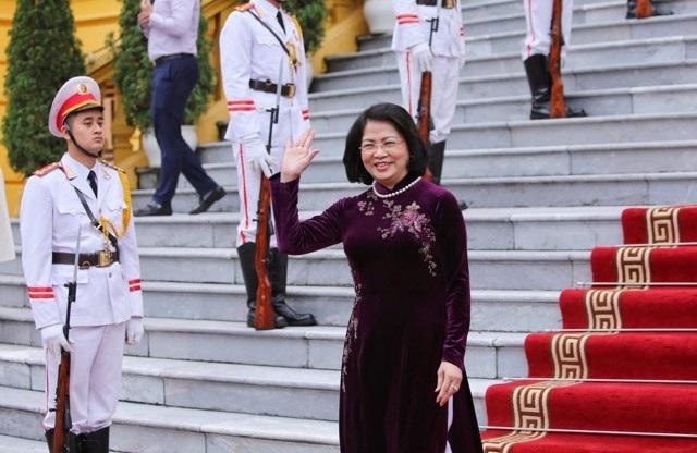 Phó Chủ tịch nước Đặng Thị Ngọc Thịnh chủ trì lễ đón Phó Tổng thống Ấn Độ - 1
