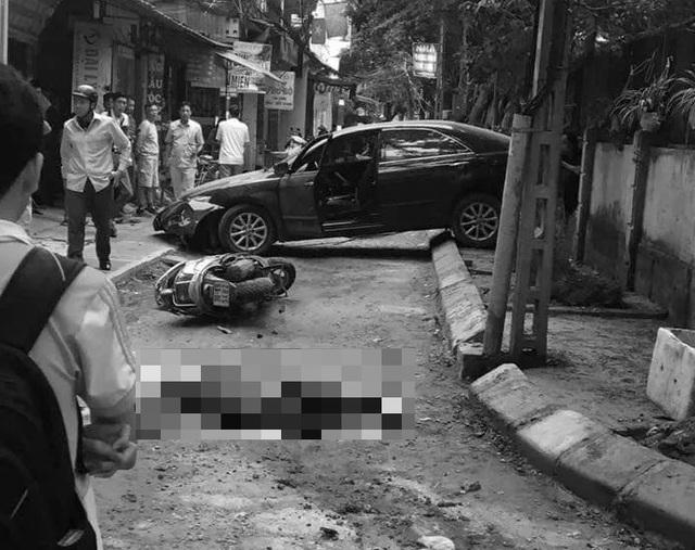 Hà Nội: Nghi vấn nữ tài xế nhầm chân ga lùi xe tông chết một phụ nữ - 1