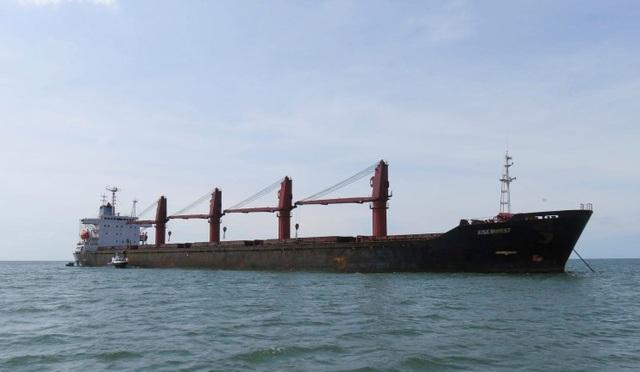 Mỹ lần đầu bắt giữ tàu hàng Triều Tiên giữa lúc căng thẳng - 1