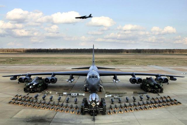 """Dàn khí tài uy lực Mỹ đưa tới Trung Đông """"nắn gân"""" Iran - 5"""