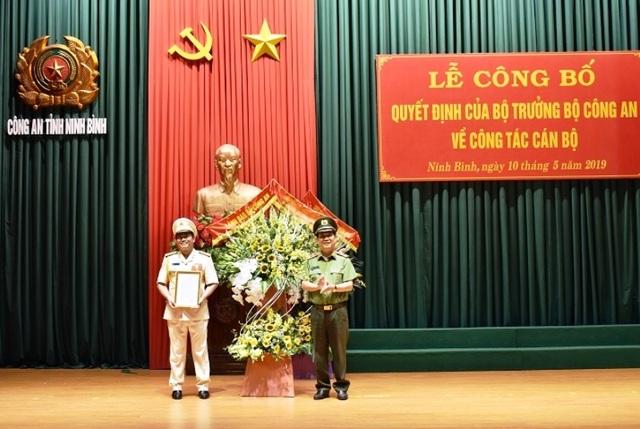 Phó Giám đốc Công an Vĩnh Phúc được bổ nhiệm làm Giám đốc Công an Ninh Bình - 1